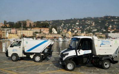 Mezzi elettrici a Bordighera e Santa Margherita Ligure